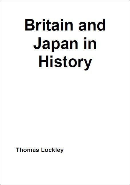 Britain and Japan in History表紙