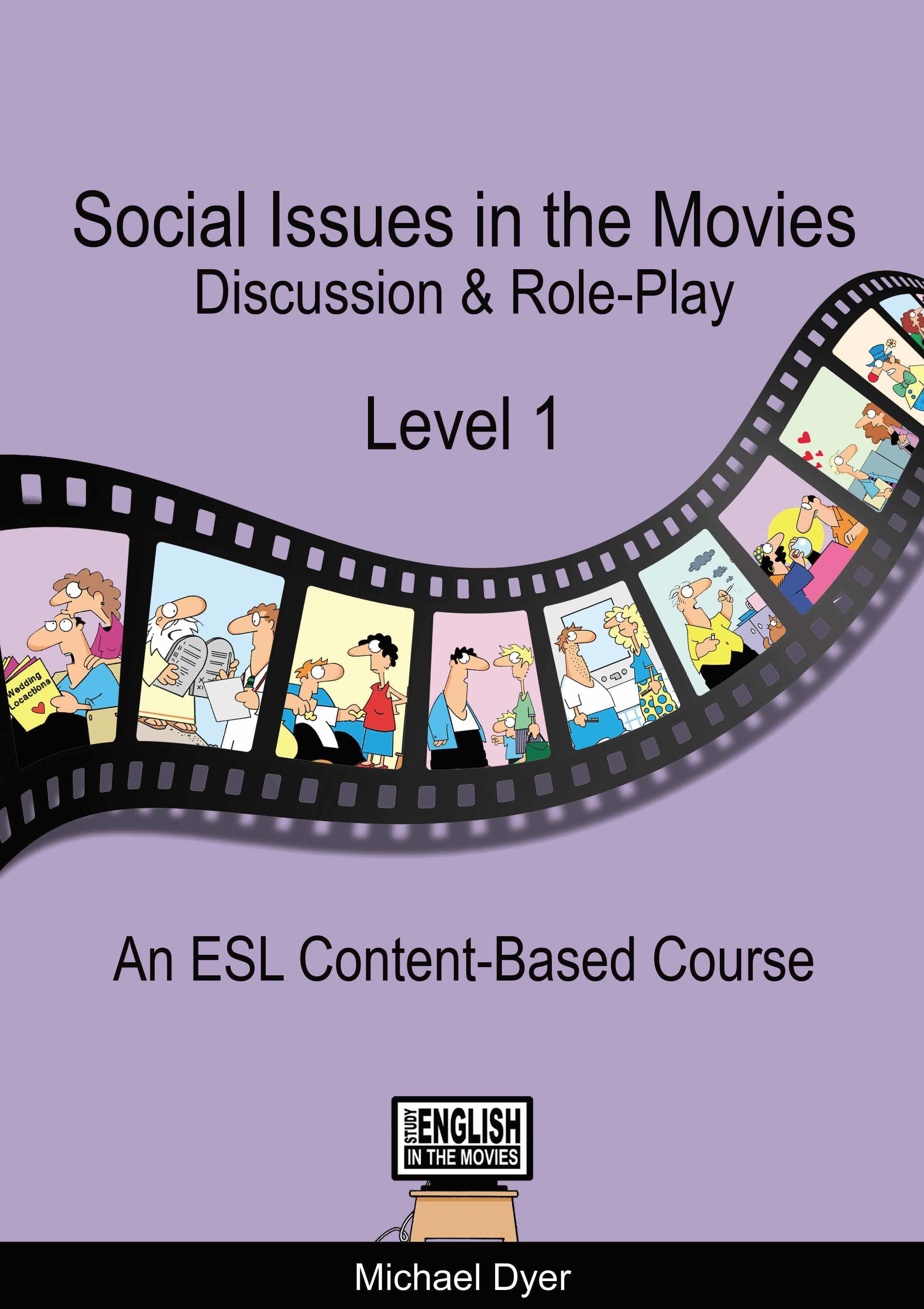 『Social Issues in the Movies Level1』Michael Dyer 著