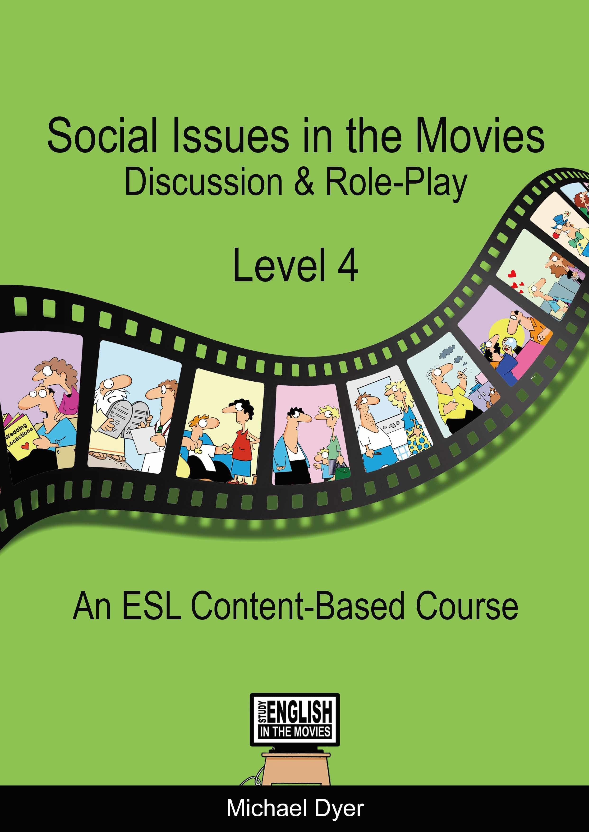『Social Issues in the Movies Level4』Michael Dyer 著